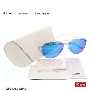 Michael Kors MK5007 Hvar Aviator Sunglasses